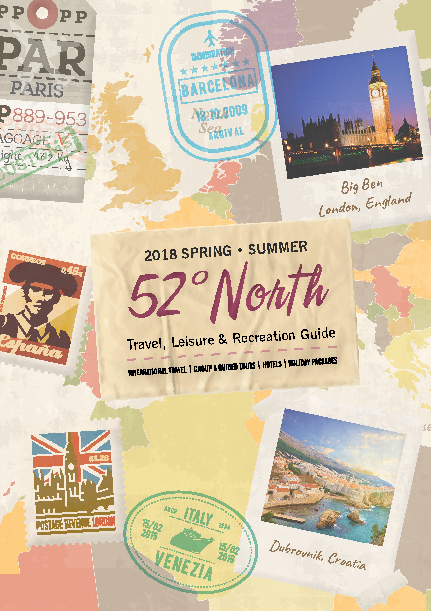 52 Degrees North Spring-Summer 2018